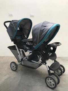 Coche Para Gemelos (as), Marca Graco