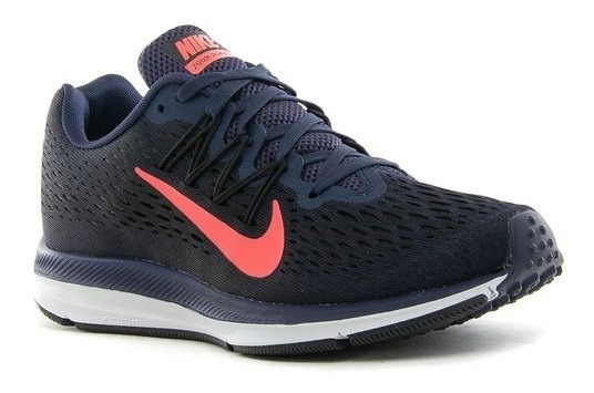 Zapatillas Nike Air Zoom Winflo 5 Mujer Running Aa7414-403