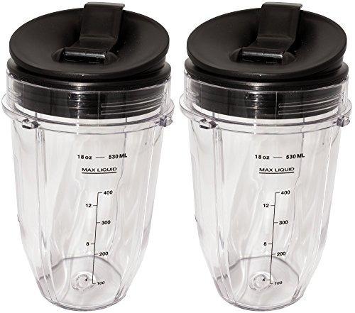 Blendin 2 Pack Small 18 Ounce Cup Con Tapas Flip Flip Sip N