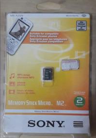 Cartão De Memória M2 Sony 2gb Original,novo,lacrado