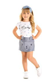 Lindo Conjunto Infantil Gatinha Menina/bebê (tamanhos 1,2,3)
