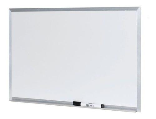 Imagem 1 de 1 de Quadro Branco Stalo 90x60cm Alumínio S/ Cantoneira 9122
