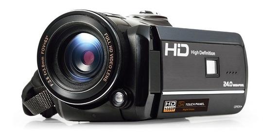 Camera Filmadora Semi Profissional Gravaçao Video