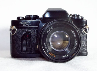 Camara Sears Ksx Sper Lente 50mm F/1:2.0 Analoga