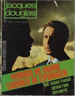 1971 Revista Jacques Douglas Nº 48 Editor Vecchi Fotonovela