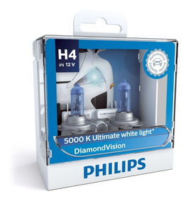 ( Veja Original ) Philips Diamond Vision 5000k H4 + Garantia