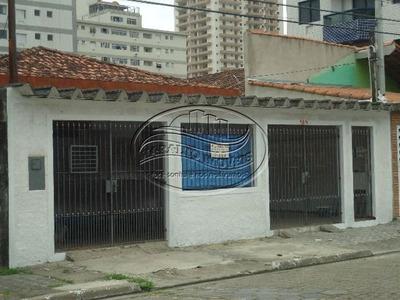 Casa Isolada A 100 Metros Da Praia Em Praia Grande Sp.