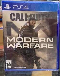Call Of Duty Modern Warfare 2019 Nuevo Sellado Playstation 4