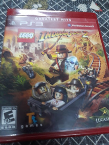 Jogo Ps3 Original Lego Indiana Jones