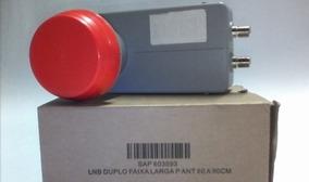 Lnb Duplo Faixa Larga-antena 60cm A 90cm-banda Ku