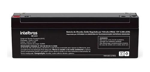 Bateria Intelbras Selada Vrla 12v 2,3ah Xb 1223