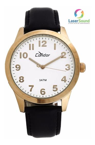 Relógio Condor Masculino Co2035aa/2b, C/ Garantia E Nf