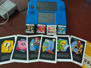 Nintendo 2 Ds Intacto Y Con Juegos.
