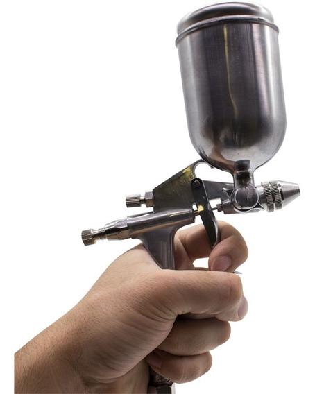 Pistola Pintura K3 Gravidade 90ml Bico 0,5 Aerografo