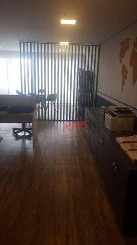 Imagem 1 de 8 de Sala Para Alugar, 94 M² Por R$ 5.000,00/mês - Centro - Santos/sp - Sa0064