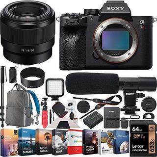 Camara Sony A7r Iv Full-frame Mirrorless Body Fe 50mm F1.8 ®
