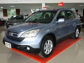 Honda Crv Ex 2009 Azul Plata Metalico
