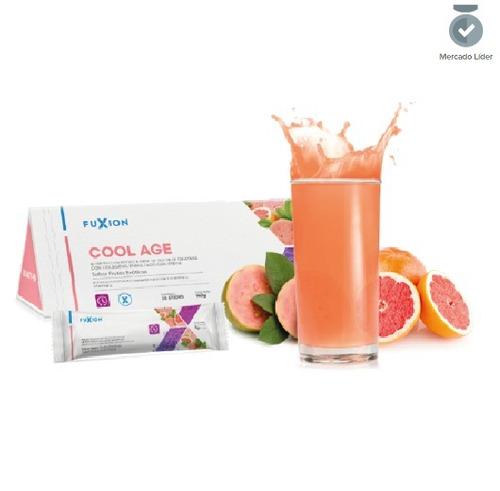 Cool Age Fuxion Colageno Biotina Antioxidante Vitamina C Y E