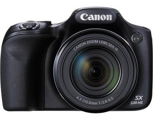 Câmera Canon Sx530 Hs Powershot Com Garantia 12x S/juros