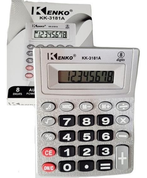 Calculadora Kenko De Mesa Kk-3181a Display 8 Digitos