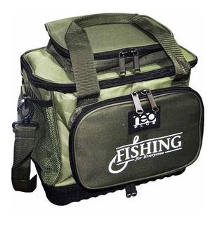 Bolsa Pesca Fishing Bag Neo Plus Verde C/ Alça Ajustável