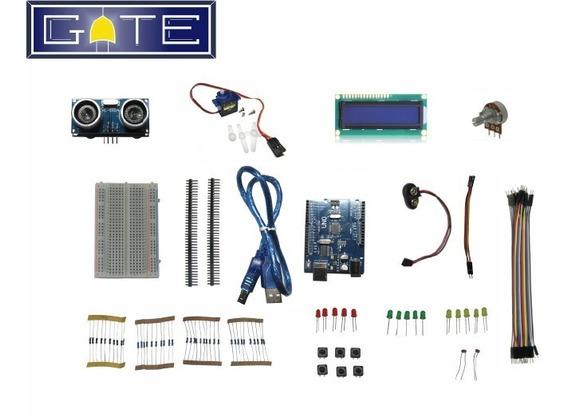 Arduino + Kit Iniciante + Sensor + Display + Servo Motor Etc