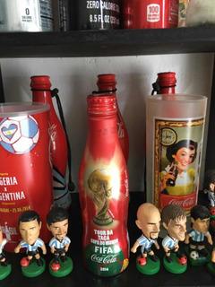 Botella Coca-cola -tours Copa Del Mundo Brasil 2014-aluminio