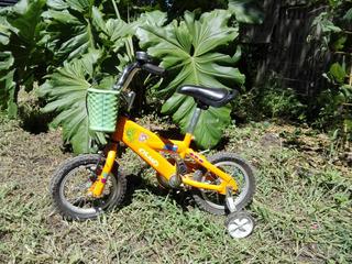 Bicicleta Infantil Cosmo Pets, Rod.12, Naranja