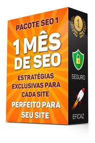 Plano 1 Mês Seo Off Page Backlinks Com Estratégia Completa