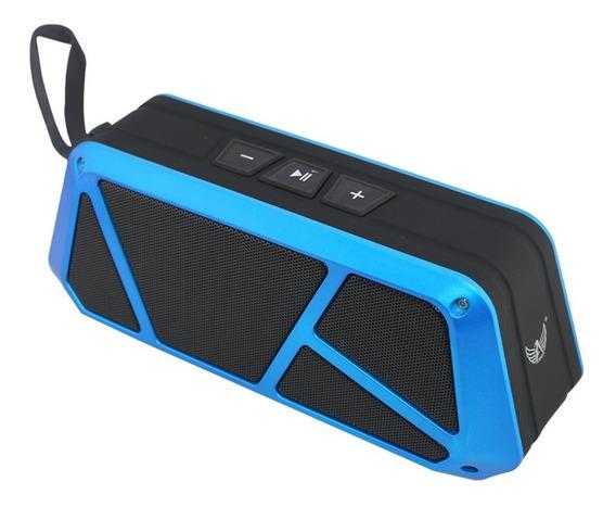 Caixa De Som Bluetooth Al-8307 - Azul