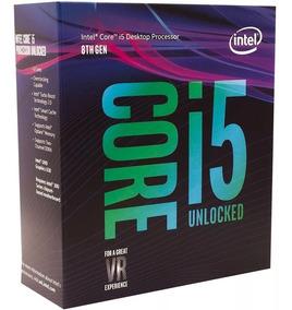 Processador Intel Core I5 8600k 4,3ghz Lga1151 8ª Ger Leia