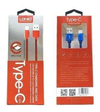 Cable Ldnio Tipo C Carga Rapida Y Datos