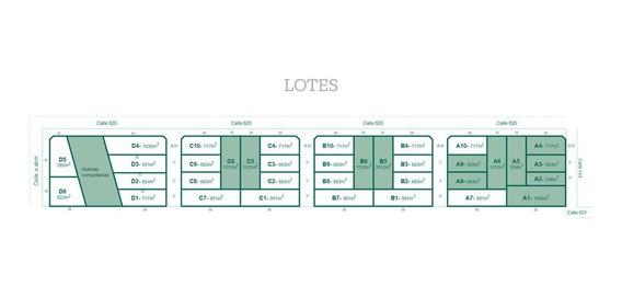 Lotes Venta -financiación - Desde 824 Mts 2 A 1,030 Mts 2 -medidas 19 X 56 Mts - Arana
