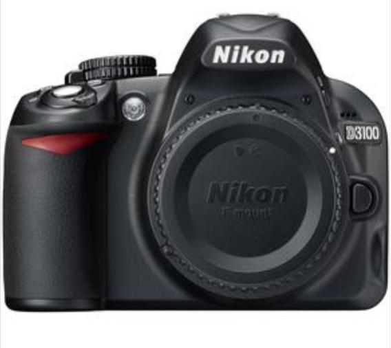 Câmera Nikon D3100 + Lente 18-105 + 2 Baterias + Carregador
