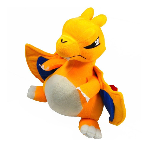 Imagen 1 de 4 de Peluche Pokemon Go Mega Charizard 32cm Evolucion Dragon