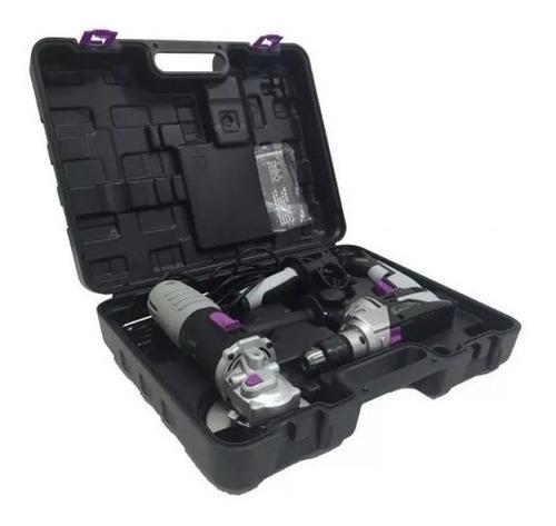 Kit Amoladora 900w+taladro 850w Neo Tp913/4-aa915/1k - Ynter