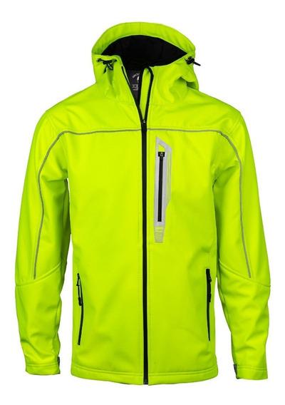 Campera Softshell Amarilla Termica Impermeable Nieve Abrigo
