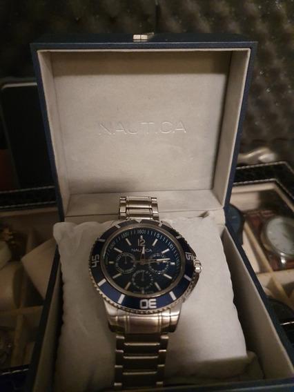 Relógio Náutica Aço A19592g