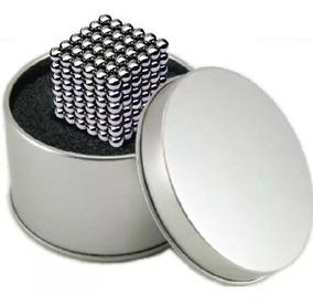 Cubo Com 216 Esferas Magnéticas De Imã Neodimio Neocube 3mm