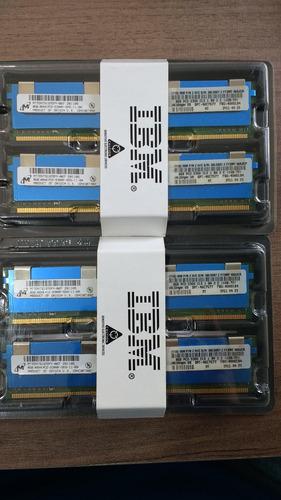 Memória Ibm 16gb (2x8gb - Kit) 38l5097 - 46c7577 - 40w0184