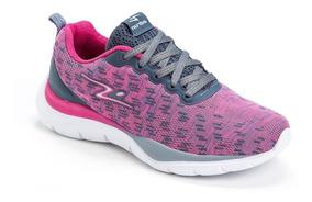 Tênis Adrun Soft Foot Feminino Original - Pink E Branco