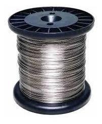 Carretel Arame Aço Inox Aisi 304l Cerca Eletrica Fio 0,90