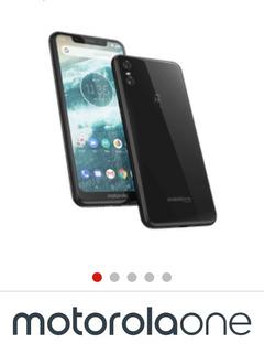 Vende-se Motorola One 64g 4rm Completo