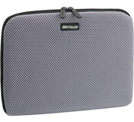 Case Para Notebook Multilaser 14 Neoprene Cinza