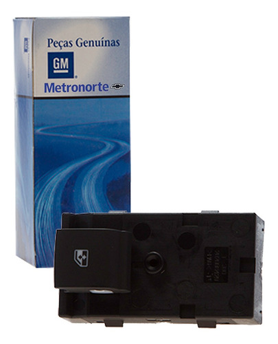 Imagem 1 de 3 de Botão Interruptor Vidro Elétrico Da Porta Traseira-cobalt