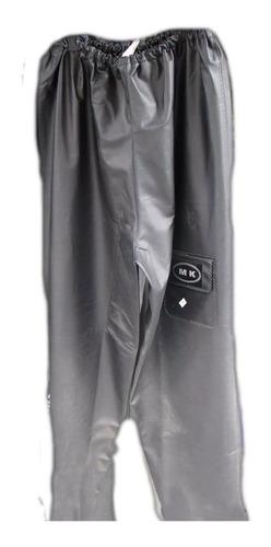 Pantalón Suelto Del Equipo De Lluvia Para Moto. Marca Mk.