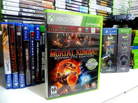Mortal Kombat Komplete Edition Original Xbox Em Português