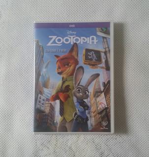 Zootopia Dvd Filme Animação Disney Lacrado Música Shakira