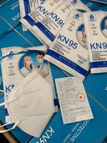 Imagen 1 de 3 de Cubrebocas Kn95 Importado Empaque Individual Certificado