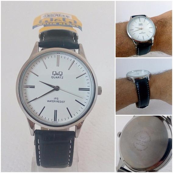 Relógio Masculino Qq 301y Quartz Original Executivo Vip Luxo